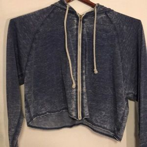 Other - Cropped USA zip up